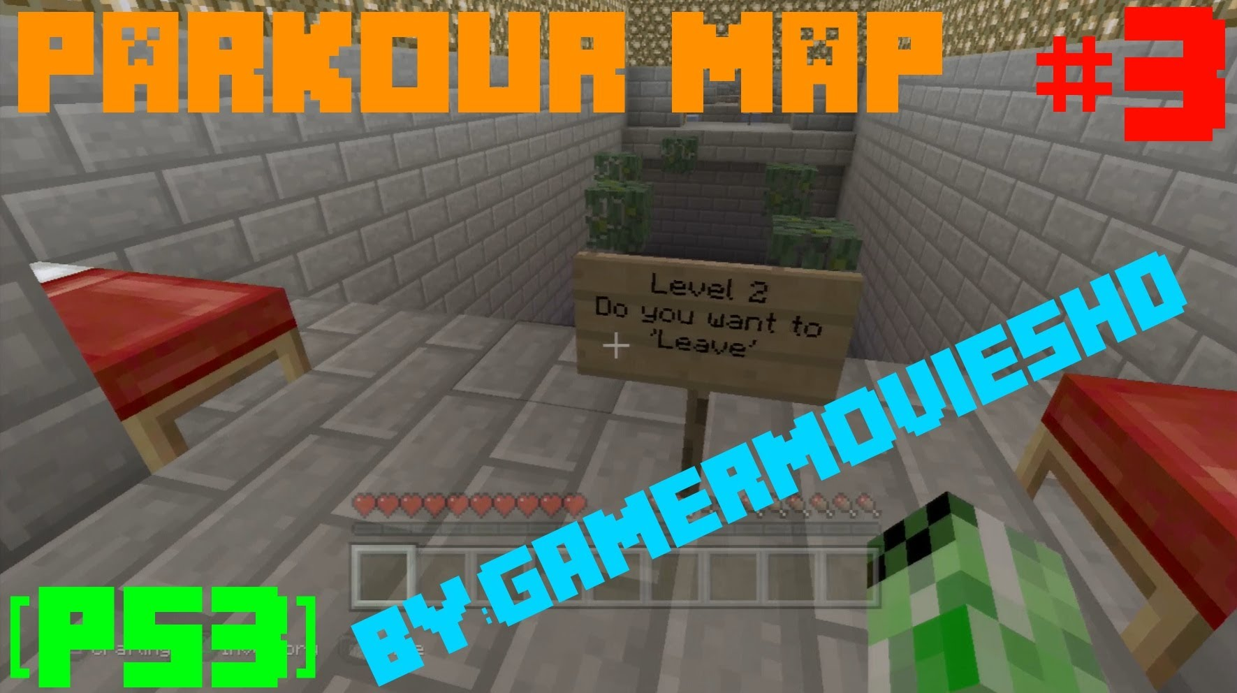 Minecraft PS3: Parkour Map Download
