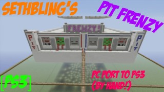 Minecraft PS3: Pit Frenzy Map Download