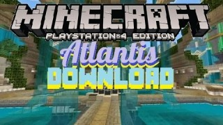 Minecraft PS3: Atlantis Hunger Games Map Download