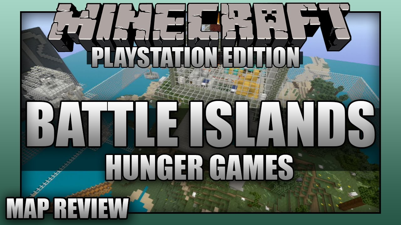 Minecraft PS3: Battle Island Hunger Games Map Download