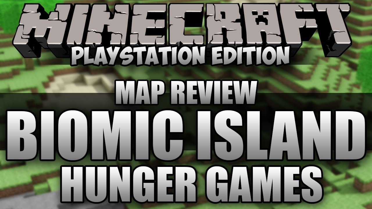 Minecraft PS3: Biomic Islands Hunger Games Map Download
