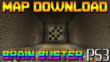 Minecraft PS3: Brain Buster Puzzle Map Download