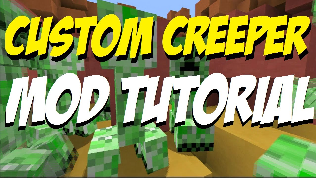 Minecraft PS3: Custom Creeper Mod Tutorial Map Download
