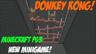 Minecraft PS3: Donkey Kong Map Download