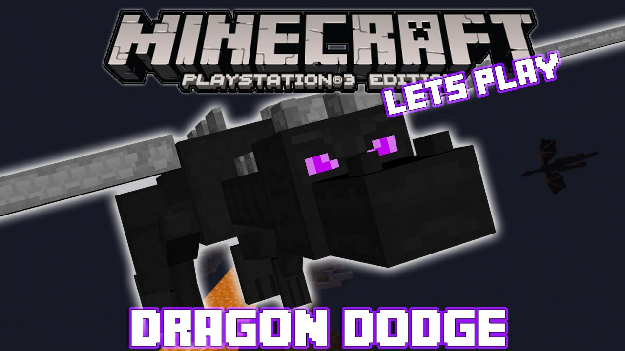 Minecraft PS3: Dragon Dodge Map Download