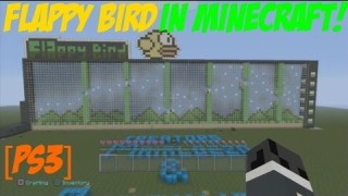 Minecraft PS3: Flappy Bird Parkour Map Download