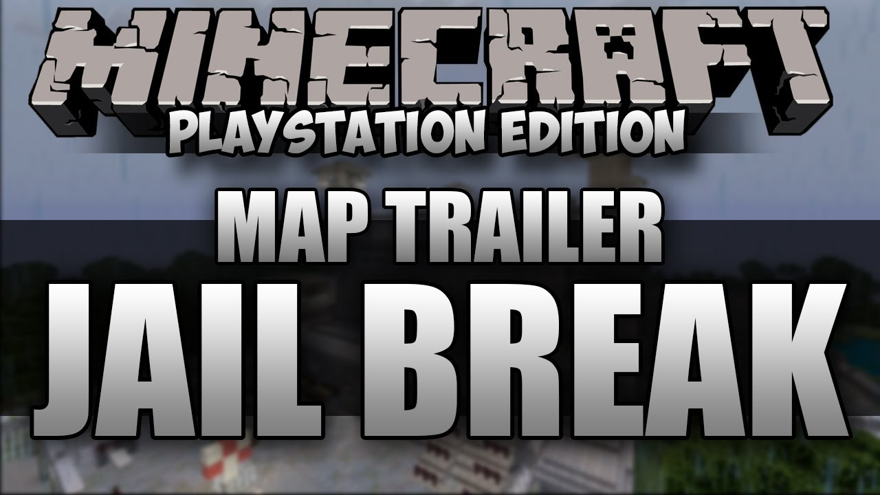Minecraft PS3: Jail Break Map Download