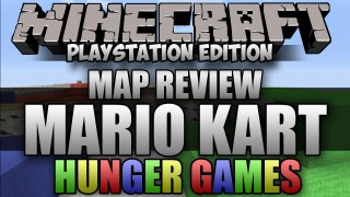 Minecraft PS3: Mario Kart Hunger Games Map Download