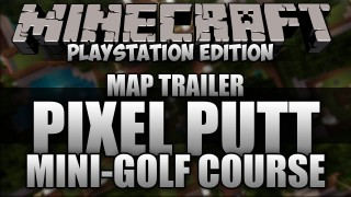 Minecraft PS3: Pixel Putt Mini-Golf Course Map Download