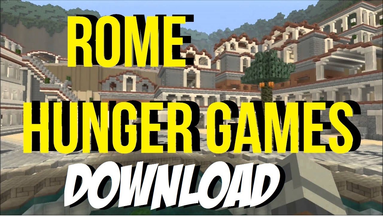 Minecraft PS3: Rome Hunger Games Map Download