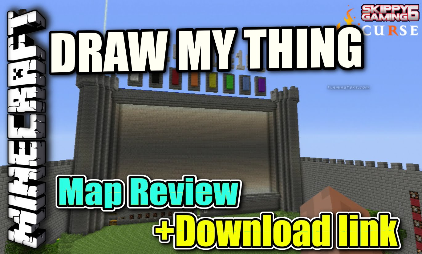 Minecraft PS3: Draw My Thing Map Download