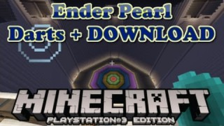Minecraft PS3: Ender Pearl Darts Map Download