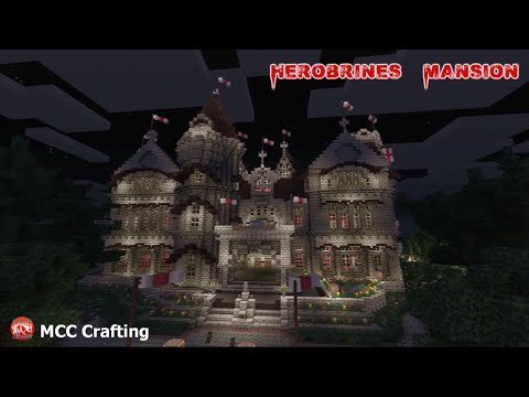 Minecraft PS3: Herobrines Mansion Map Download