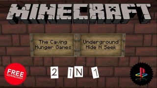 Minecraft PS3: The Caving Hunger Games Map Download