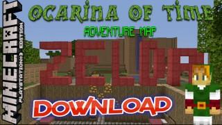 Minecraft PS3: Zelda Ocarina of Time Adventure Map