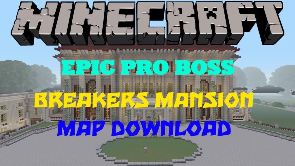 minecraft huge mansion map download