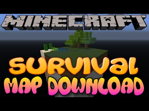 Minecraft PS3: Chunk Survival Map Download