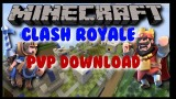Minecraft PS3: Clash Royale Mini Game Map Download
